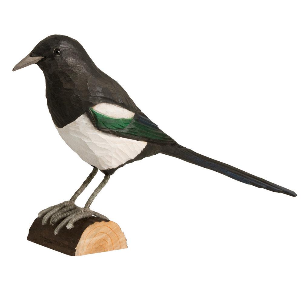 Vogel Holz elster originalgröße vogel holz einfach clever einkaufen